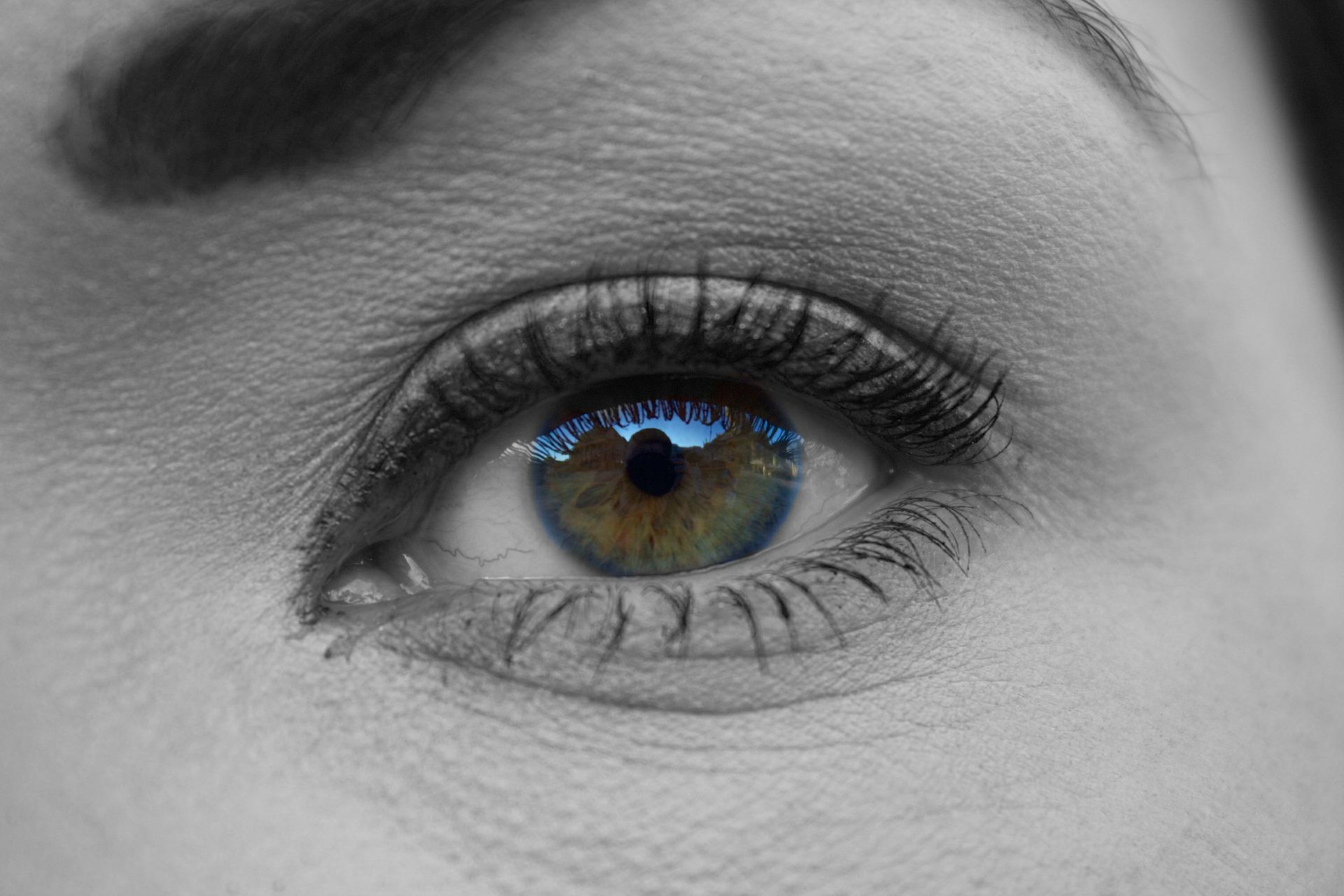 Eye Edited Using Photoshop